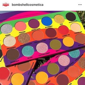 Bombshell Candylicious Palette